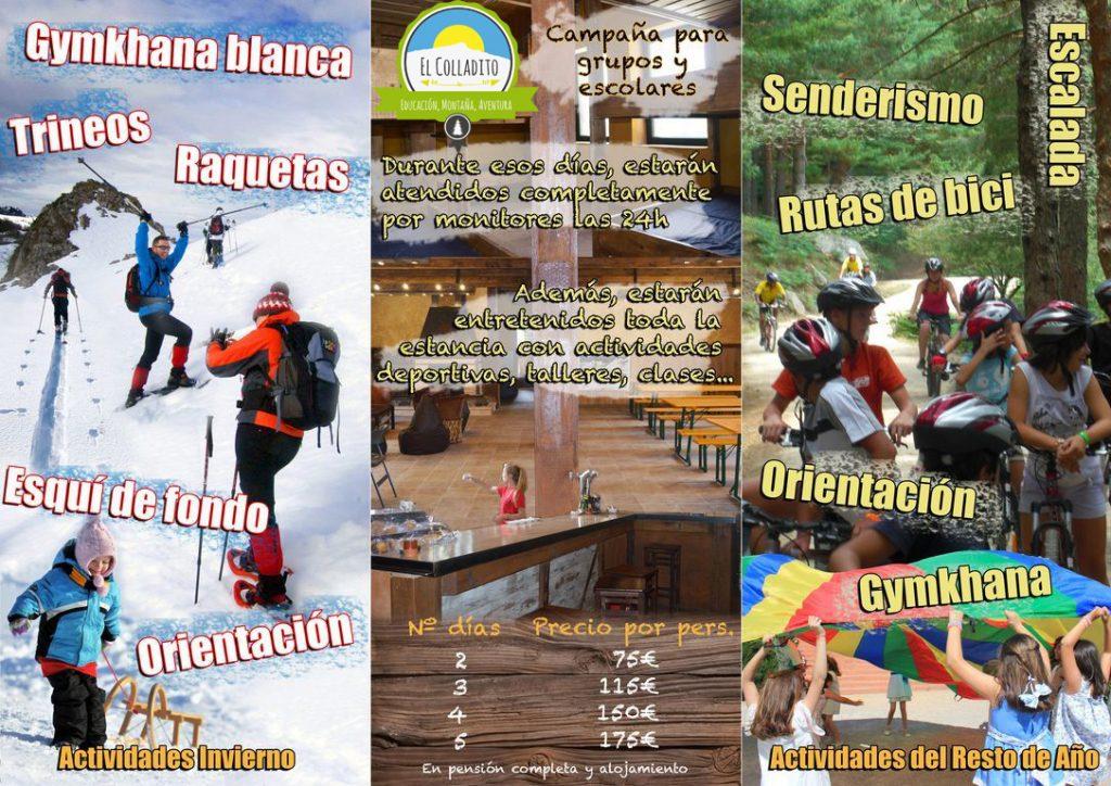 actividades en la sierra de Madrid