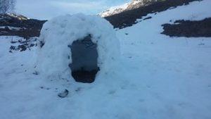 Construcción de iglús